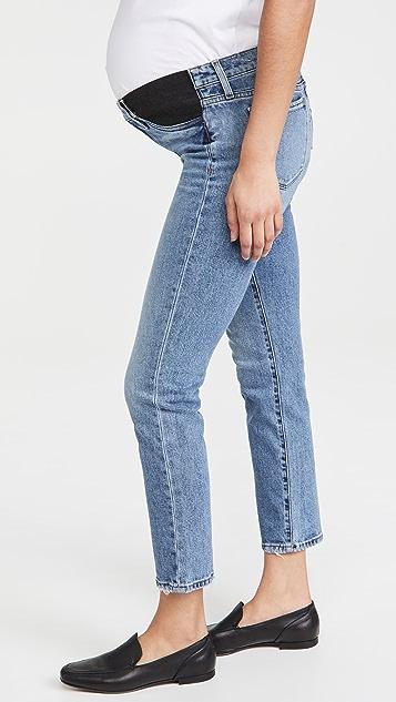 Joe's Jeans The Lara 直脚九分孕妇装牛仔裤