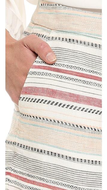 Joie Merci Multi Stripe Shorts