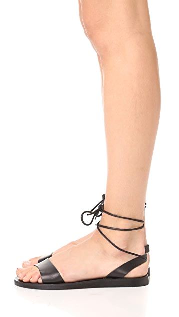 Joie Pietra Wrap Sandals