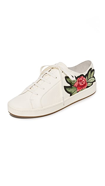 Joie Daryl Embroidered Sneakers