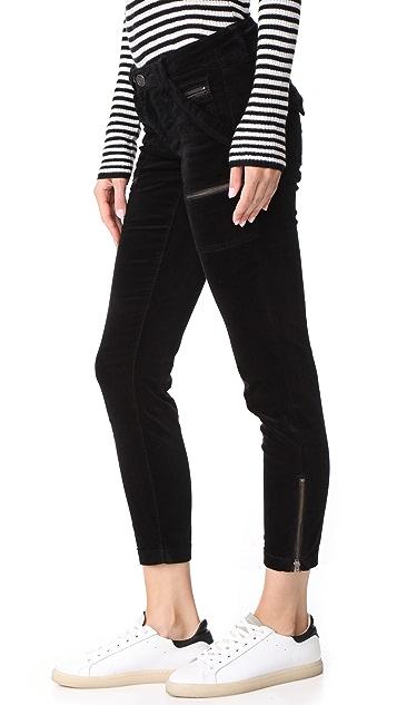 Joie Velvet Park Skinny Pants