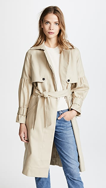 Joie Alwena Trench Coat