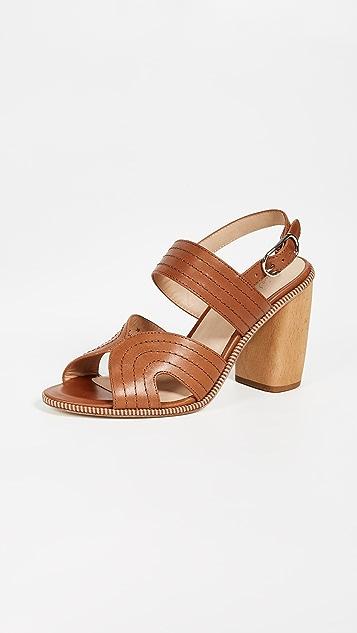 Joie Aforleen Sandals - Tan