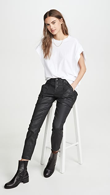 Joie Park 紧身实用工装裤