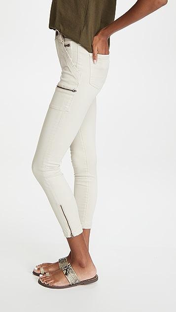 Joie Park 高腰紧身牛仔裤