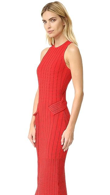Jonathan Simkhai Dasha Knit Slit Dress