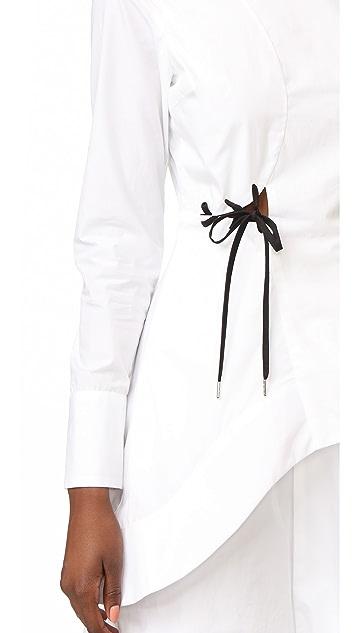 Jonathan Simkhai Poplin Dress
