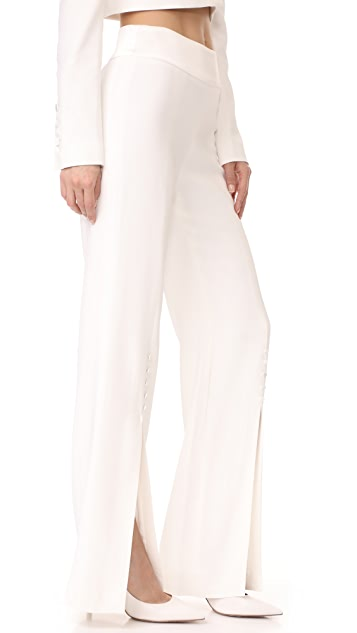 Jonathan Simkhai Combo Slit Pants
