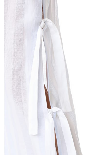 Jonathan Simkhai Side Tie Pants