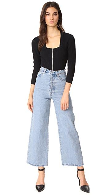 Jonathan Simkhai Released Rib Crop Top