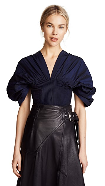 Jonathan Simkhai Drop Sleeve Top