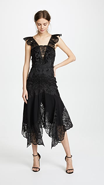 Jonathan Simkhai Dimensional Midi Dress