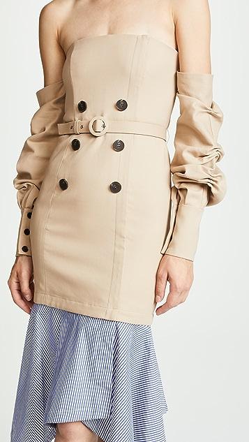 Jonathan Simkhai Tailored Corset Dress