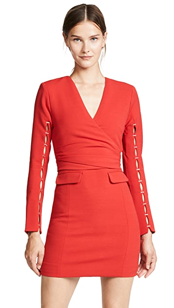 Jonathan Simkhai Stretch Wrap Dress