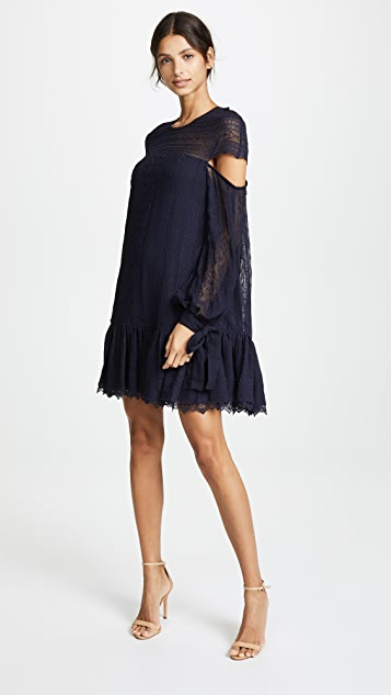 Jonathan Simkhai Cutout Sleeve Dress