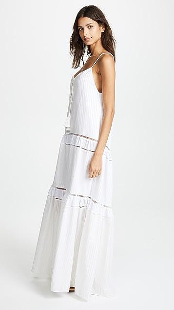Jonathan Simkhai Drawstring Tank Dress