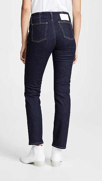 Jonathan Simkhai Rinsed Denim Cig Jeans