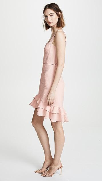 Jonathan Simkhai Seersucker Bustier Dress