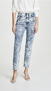 Jonathan Simkhai Button Front Jeans