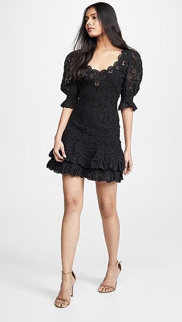 Jonathan Simkhai Связанное крючком кружевное платье