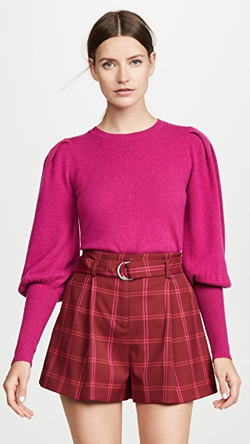 Puff Sleeve Cashmere Sweater by Jonathan Simkhai