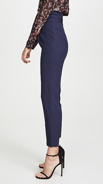 Jonathan Simkhai Luxe Pleated Pants