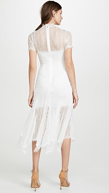 Jonathan Simkhai Lingerie Lace Dress