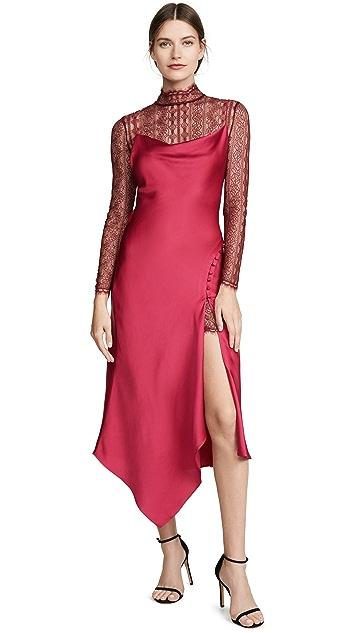 Jonathan Simkhai Lace Overlay Dress