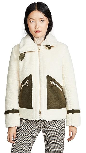 Jonathan Simkhai Sherpa Lined Jacket
