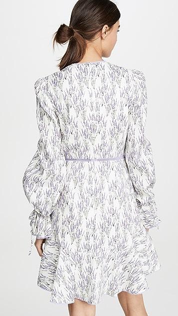 Jonathan Simkhai Платье с длинными рукавами Mallorca