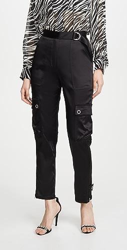Jonathan Simkhai - Structured Sateen Utility Pants