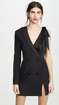 Luxe Satin Combo Suit Dress