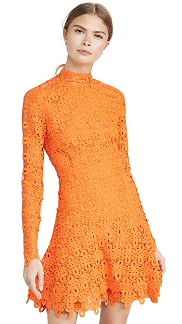 Jonathan Simkhai Guipure Lace Mini Dress