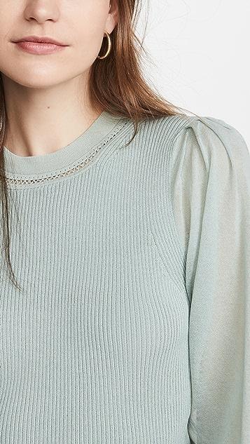 Jonathan Simkhai Veronica Tissue 棉质毛衣