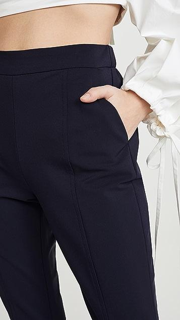 Jonathan Simkhai Joanna 科技感弹力中长裤