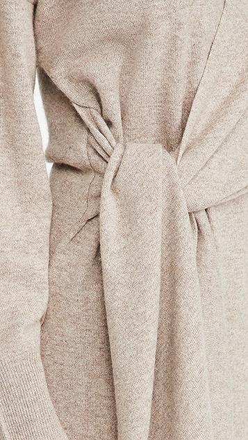 Jonathan Simkhai Skyla 居家服针织围裹式连衣裙