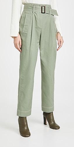 Jonathan Simkhai - Belted Trench Pants