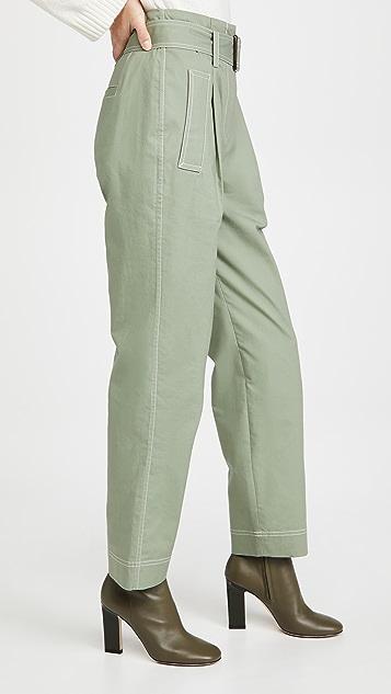 Jonathan Simkhai Belted Trench Pants
