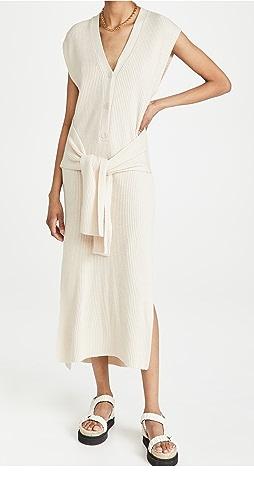 Jonathan Simkhai - Annette Loungewear Henley Dress