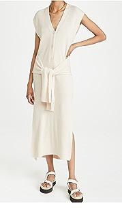 Jonathan Simkhai Annette Loungewear Henley Dress