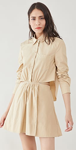 Jonathan Simkhai - Shaelyn Solid Cutout Dress