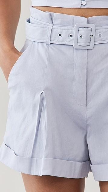 Jonathan Simkhai Lilian 亚麻短裤