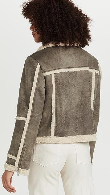Jonathan Simkhai Akira Sherpa Jacket
