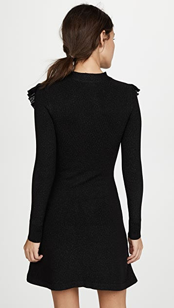 JoosTricot Long Sleeve Ruffle Dress