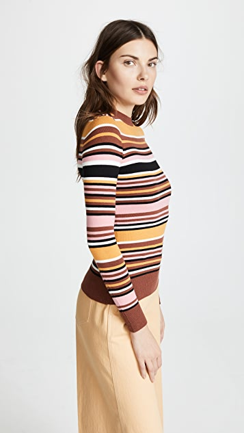 JoosTricot Long Sleeve Crew Neck Sweater