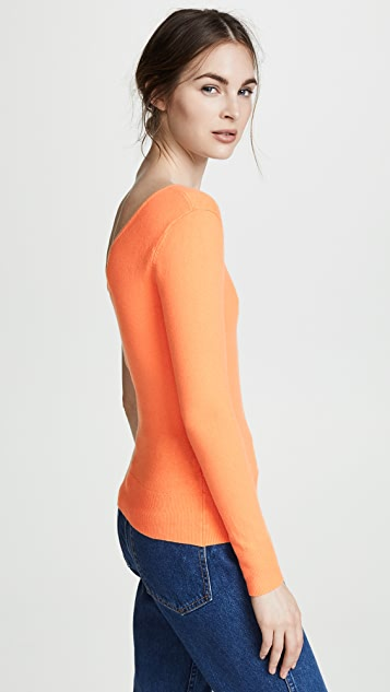 JoosTricot Asymmetrical Sweater