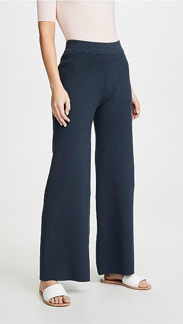 JoosTricot Расклешенные брюки из кашемира