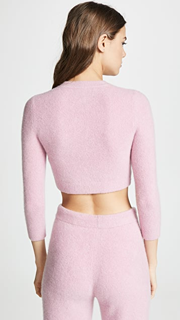 JoosTricot Cuddle Crop Sweater