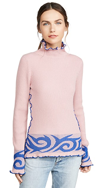 JoosTricot Tribal Turtleneck