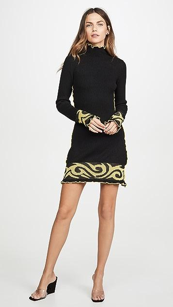 JoosTricot Мини-платье Tribal